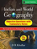 Meticulously researched, compiled and supported by relevant explanatory notes, this book by D R Khullar, a renowned expert on Geography, is a collection of high quality objective questions for aspirants of the UPSC and state civil services ex...