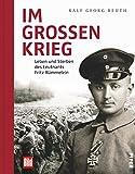 Im großen Krieg: Leben und Sterben des Leutnants Fritz Rümmelein
