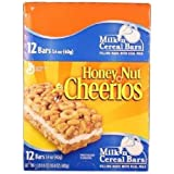 GENERAL MILLS ? Honey Nut Cheerios Milk n Cereal Bar(Pack of 12)