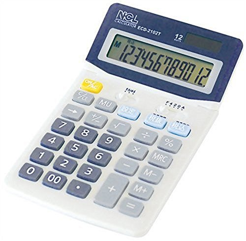Nakabayashi calculator desktop standard M ECD-2102T