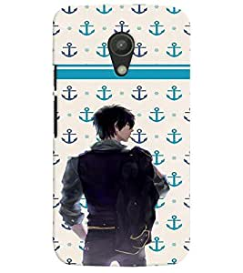 PrintVisa Cool Boy Navy Cool 3D Hard Polycarbonate Designer Back Case Cover for Motorola Moto G2
