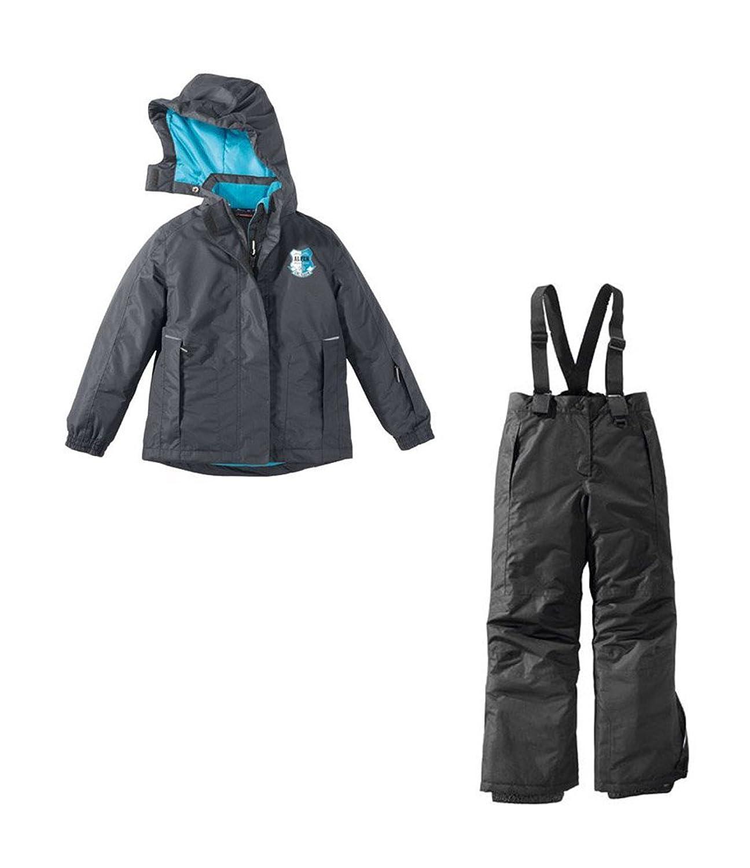Mädchen Skianzug Skijacke & Skihose Set Schneeanzug 134/140 NEU anthrazit jetzt kaufen
