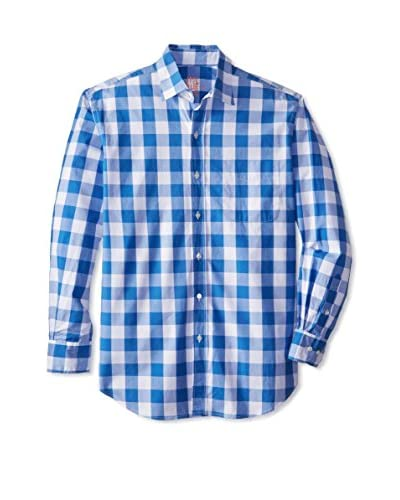 J. McLaughlin Men's Checked Sportshirt