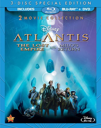Atlantis: The Lost Empire / Atlantis: Milos Return: Two-Movie Collection (Three Disc Blu-ray / DVD Combo)