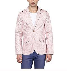 Yepme Men's Beige Blended Blazers - YPMBLZR0020_S