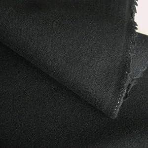 loden wollstoff mittelschwer in schwarz als meterware am st ck k che haushalt. Black Bedroom Furniture Sets. Home Design Ideas