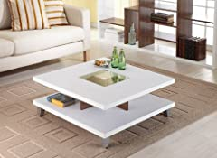 Enitial Lab Lendon Square Coffee Table, White