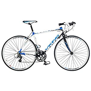 Viking Men's San Marino 700 C Road Racing Bike - White, 56 cm by Viking