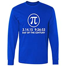 Day Of The Century Pi Day 3.14.15 long sleeve T-Shirt