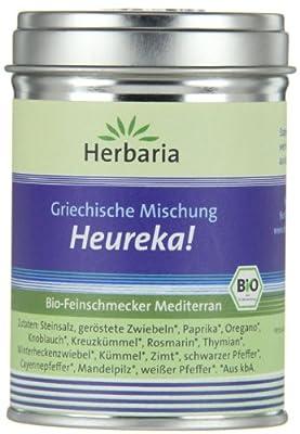 Herbaria Heureka Gyrosgewürz kbA* 80 g M-Dose, 1er Pack (1 x 80 g) - Bio von Herbaria - Gewürze Shop