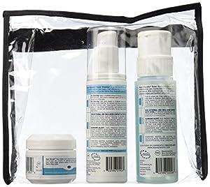 Aqua Glycolic Alpha Hydroxy Acid Skin Care System, Facial Cleanser 6 Ounce, Toner 6 Ounce, Face Cream, 2 ounce 1 kit by Aqua Glycolic