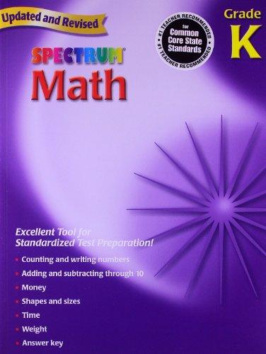Spectrum Math, Grade K