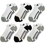 Adidas Socks Low Cut Sport Cushioned - White (6-Pack)
