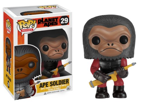 Funko POP Movies Ape Soldier Planet of The Apes Vinyl Figure - 1