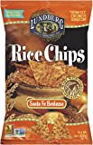 Lundberg Rice Chips Made with Organic Grains, Santa Fe Barbeque, 6-Ounce Bags (Pack of 12)
