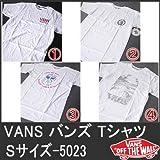 (バンズ)VANS 半袖T Sサイズ-A 5023