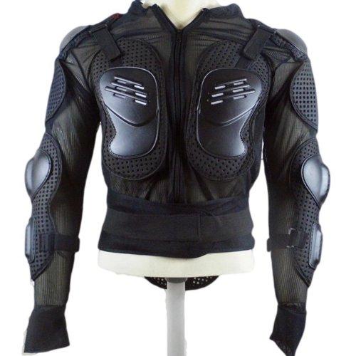 衝撃吸収  ボディー ガード プロテクター 上半身 ( 肘 胸 肩 背中 )  インナー ジャケット にもどうぞ (XL)