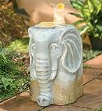 Ceramic African Elephant Stool