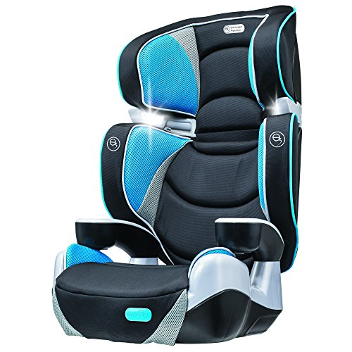 new evenflo rightfit booster car seat capri free shipping. Black Bedroom Furniture Sets. Home Design Ideas