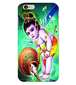 ColourCraft Lord Krishna Back Case Cover for APPLE IPHONE 6S PLUS