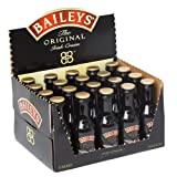 Baileys Biscotti Flavour Irish Cream Liqueur 5cl Miniature - 20 Pack