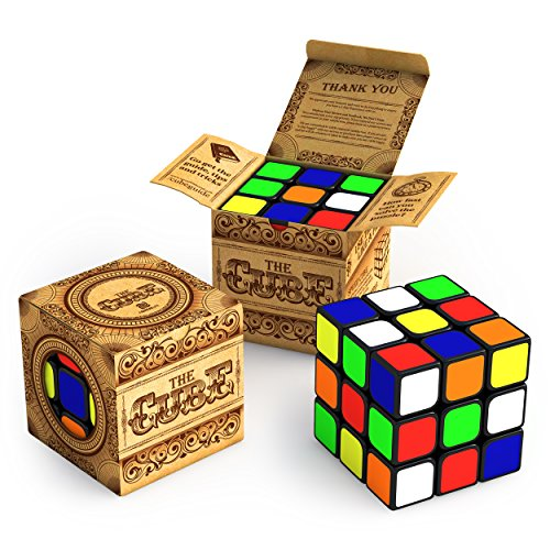 The Cube: Turns Quicker and More Precisely Than Original; Super-durable With Vivid Colors; Best-selling 3x3 Cube; Easy Turning and Smooth Play (Marvel Maze compare prices)