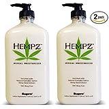 Hempz Herbal Moisturizer 17 Oz Bottle