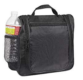Multi Pocket Hanging Toiletry Cosmetics Travel Bag, Black by BAGS FOR LESSTM