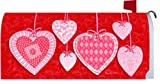 Heart Strings 1546MM Valentines Day Magnetic Mailbox Cover Wrap