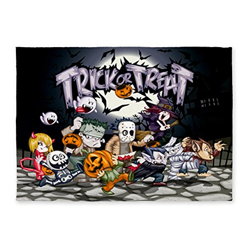 5' x 7' Area Rug Halloween Trick or Treat Costumes