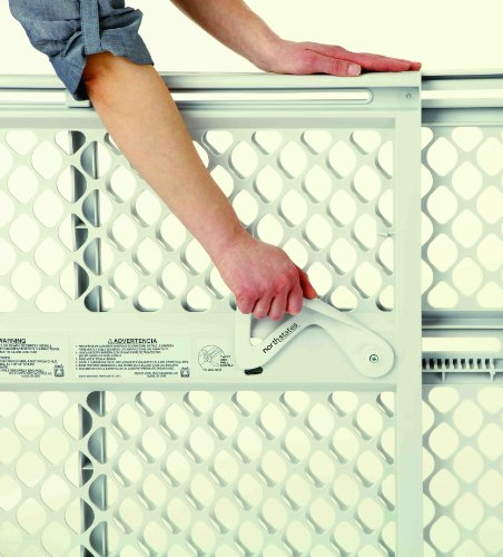 North States Supergate Ergo Safety Gate, Cream