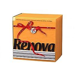 Renova Paper Napkins Red Label Type E, 320mm x 300mm, Orange