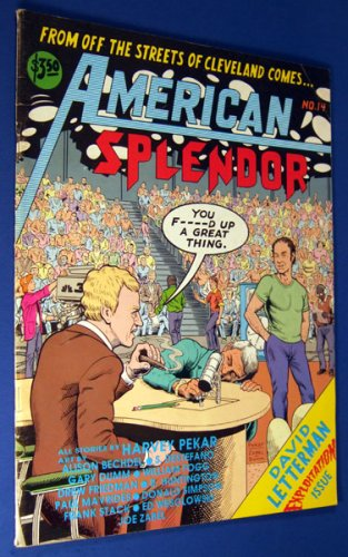 American Splendor #14: David Letterman Exploitation Issue [SIGNED]