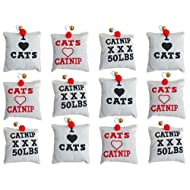 Country CATNIP Pillows Cat Toy