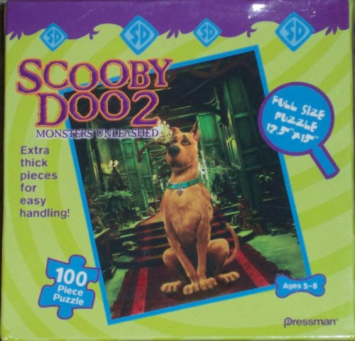 Scooby Doo 2 Puzzle 100 Piece by Pressman - 1