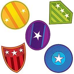 Carson Dellosa Super Power Shields Mini Cut-Outs (120189)