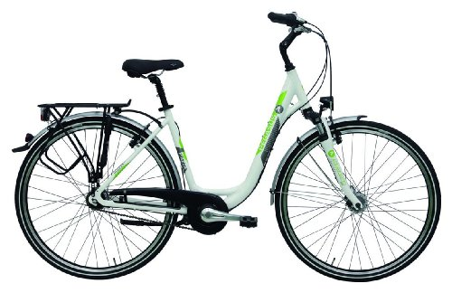 Pegasus Piazza Wave weiß 7N 2014 City Rad Damen - Farbe weiß - Produktart Damenfahrrad - Rahmentyp Deep - Größe 49 cm