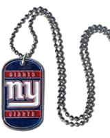 NFL New York Giants Dog Tag Necklace