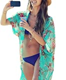 Yonala Summer Womens Beach Wear Cover up Swimwear Beachwear Bikini,One Size,Green