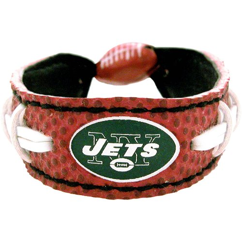 NFL New York Jets Classic Football Bracelet