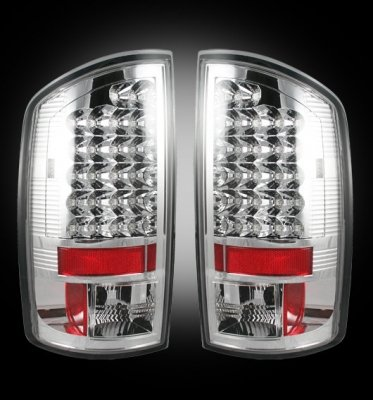 Recon 264179Cl Led Tail Lights Dodge Ram 2007-2009
