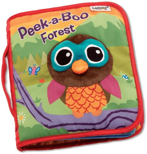 Tomy Lamaze Cloth Book, Peek-A-Boo Forest front-947881