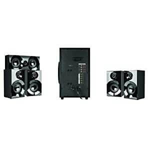 Klip Xtreme Mirage 5 1 Channel Stereo System with Subwoofer