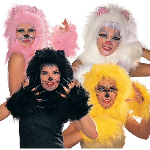 Gold Cat Costume Accessory Kit