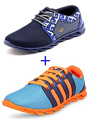 SCATCHITE Combo Pack of 2 Blade Sports Shoes for Men's