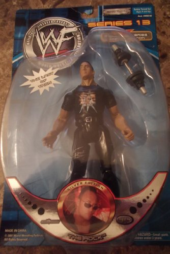 WWF Signature Series 13 Special Edtion THE ROCK