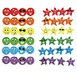 Trend T83905 Trend Stinky Stickers Variety Pack, Smiles &amp; Stars, 648/pack