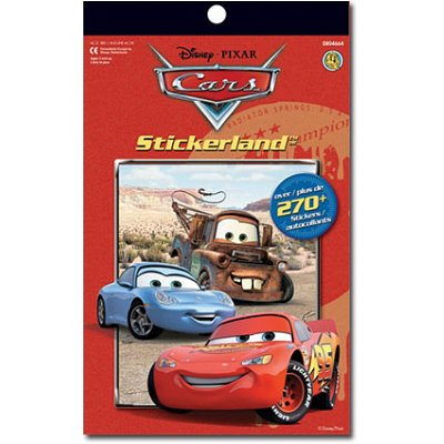 Disney Pixar Cars Stickerland Collection - 270+ Stickers