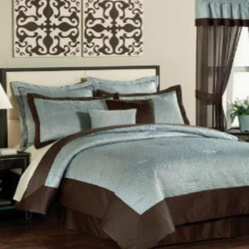 Pem America India Tile Queen 20 Piece Comforter Bed In A Bag Set front-991137