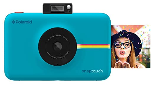 Polaroid Snap Touch Instant Print Digital Camera With LCD Display (Blue) with Zink Zero Ink Printing Technology at amazon